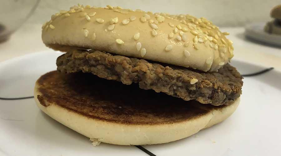 Dag 1522. Min hamburgare har fyllt fyra år!